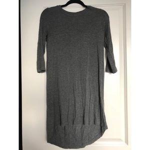 Grey Tobi Long sleeved dress